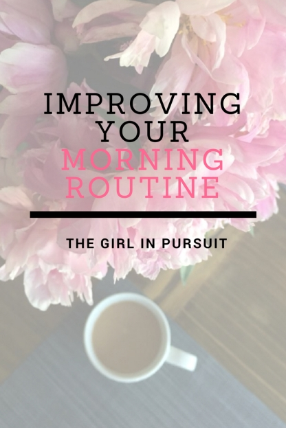Improving your morning routine