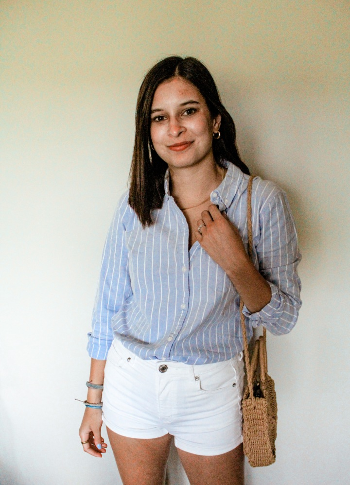 How to Style a Button-Up Shirt During Summer